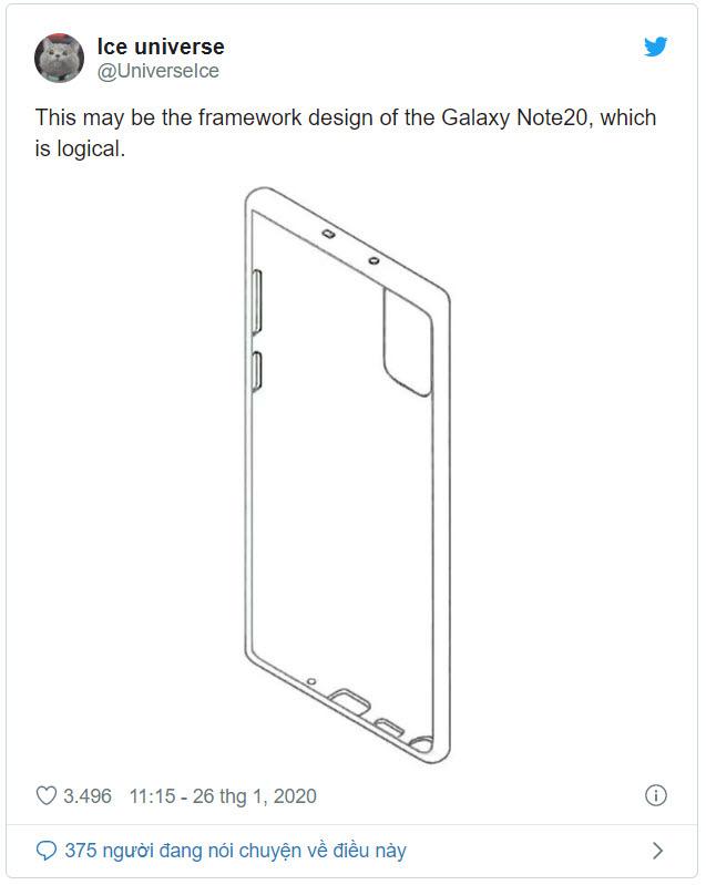Rò rỉ tin đồn Samsung Galaxy Note 20 và Galaxy Fold 2 - Ảnh 3.