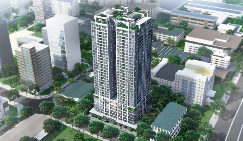Dự án Dreamland Bonanza đang mở bán: Toà chung cư hiếm hoi ở 'khu phố Wall' của Việt Nam - Ảnh 1.