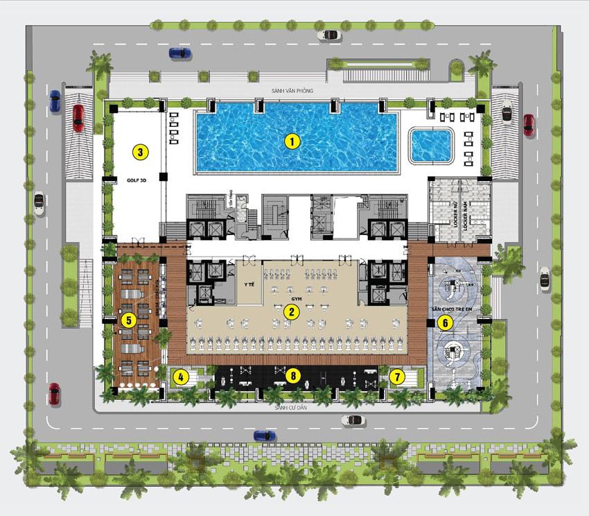 Dự án Dreamland Bonanza đang mở bán: Toà chung cư hiếm hoi ở 'khu phố Wall' của Việt Nam - Ảnh 4.