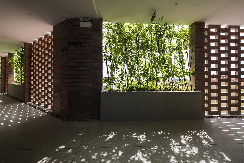 Tòa nhà 5 tầng 'siêu độc' phủ kín cây xanh ở Đà Nẵng, được báo Tây hết lời khen ngợi - Ảnh 4.