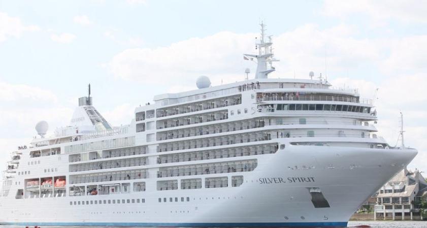 Bên trong du thuyền hạng sang Silver Spirit vừa cập cảng Chân Mây - Ảnh 1.