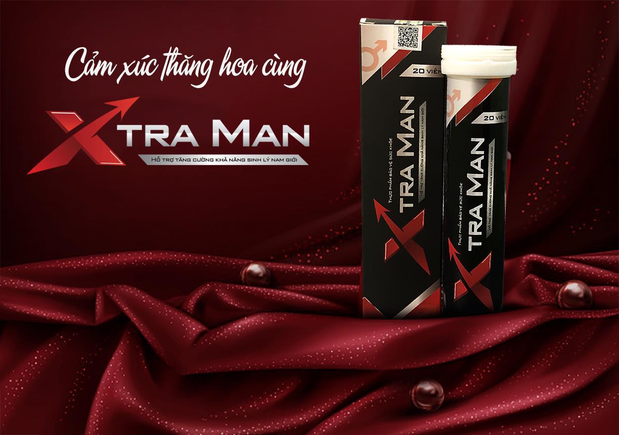Viên sủi Xtra Man – Giải pháp đột phá hỗ trợ tăng cường sinh lí phái mạnh - Ảnh 1.