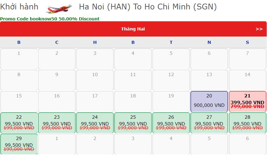 Vietjet giảm 50% giá vé cho tất cả đường bay - Ảnh 1.