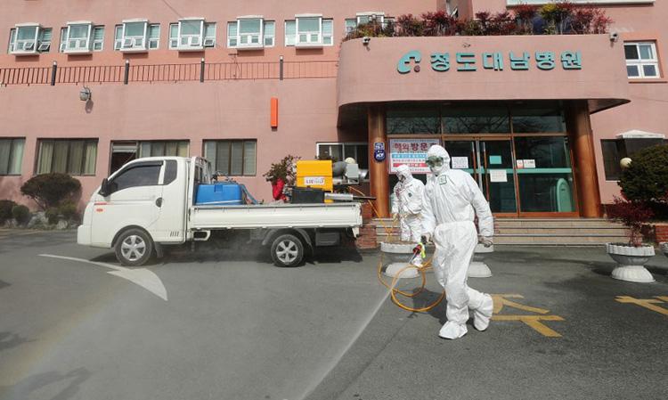 Việt Nam khuyến cáo công dân không đến vùng dịch tại Hàn Quốc - Ảnh 1.