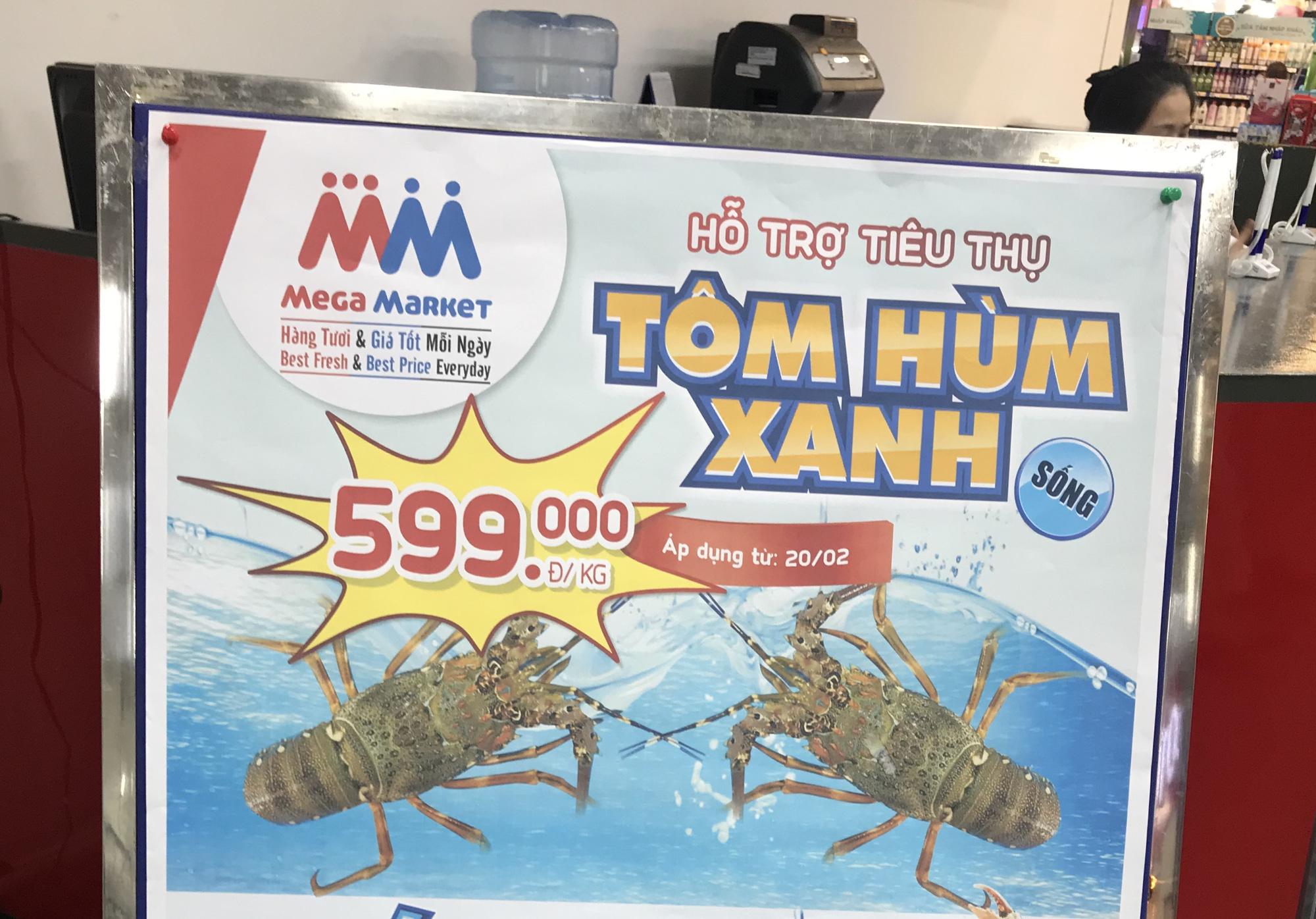 Sau Aeon, VinMart thì Lotte Mart, MM Mega Market cũng vào cuộc giải cứu tôm hùm, tôm sống chỉ 599.000 đồng/kg - Ảnh 1.