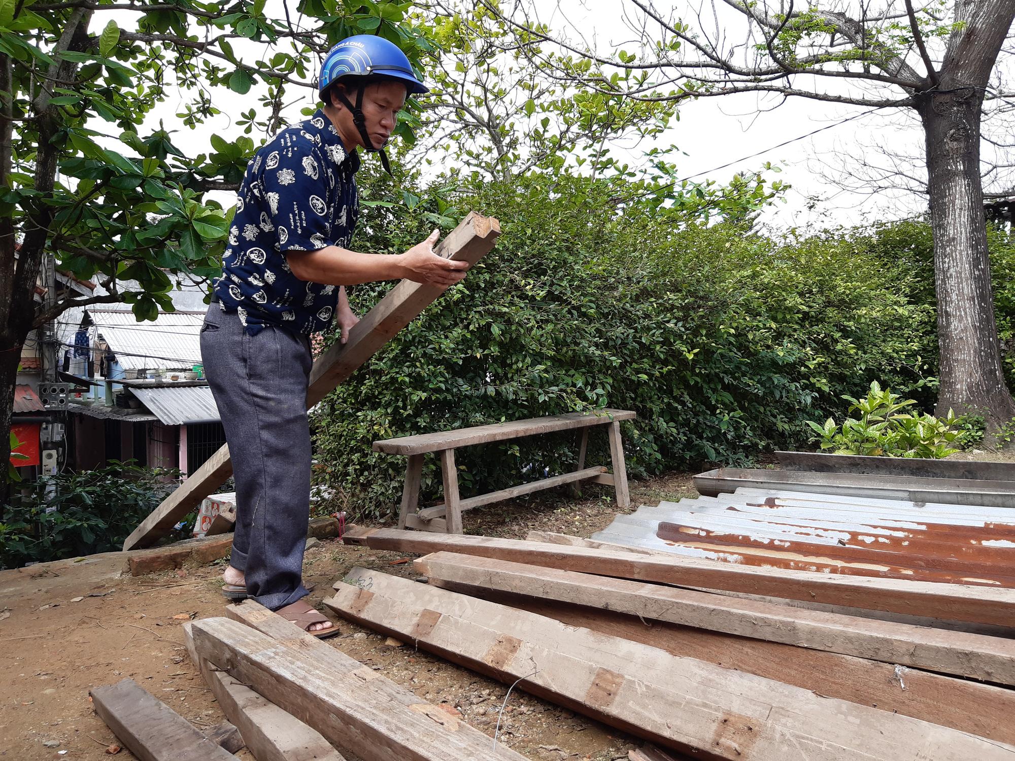 Thừa Thiên - Huế: Người dân Thượng thành tháo dỡ nhà cửa để chuẩn bị đến nơi ở mới - Ảnh 6.