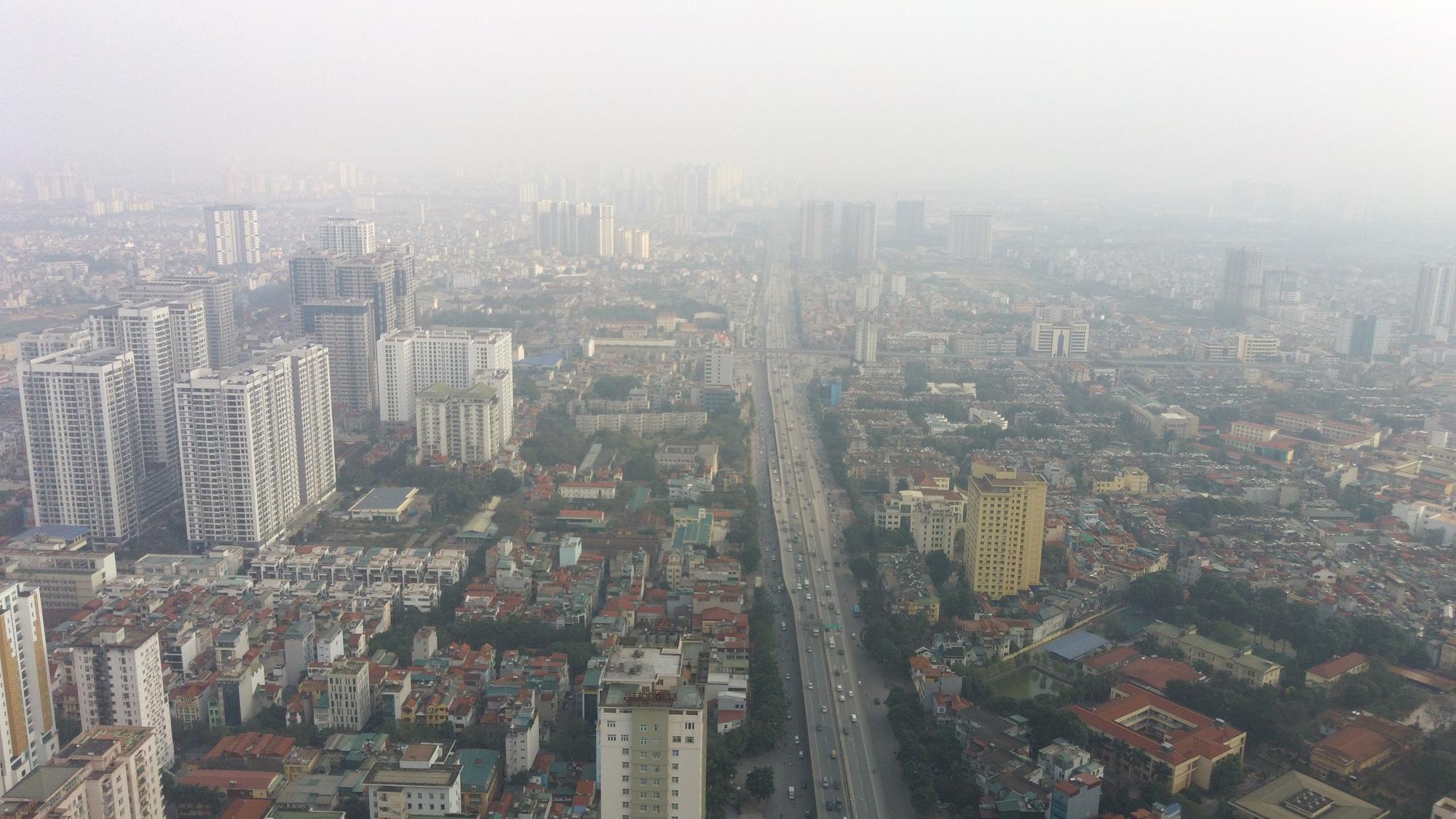 Hà Nội ô nhiễm không khí ở mức cảnh báo tím từ sáng đến chiều - Ảnh 5.