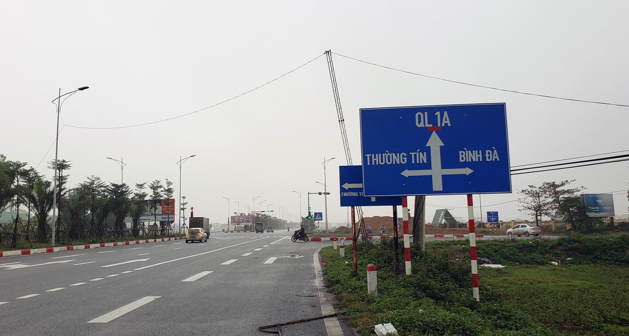 Đường sẽ mở theo qui hoạch: Toàn cảnh đường trục Tây Nam Hà Nội qua KĐT Thanh Hà - Ảnh 14.