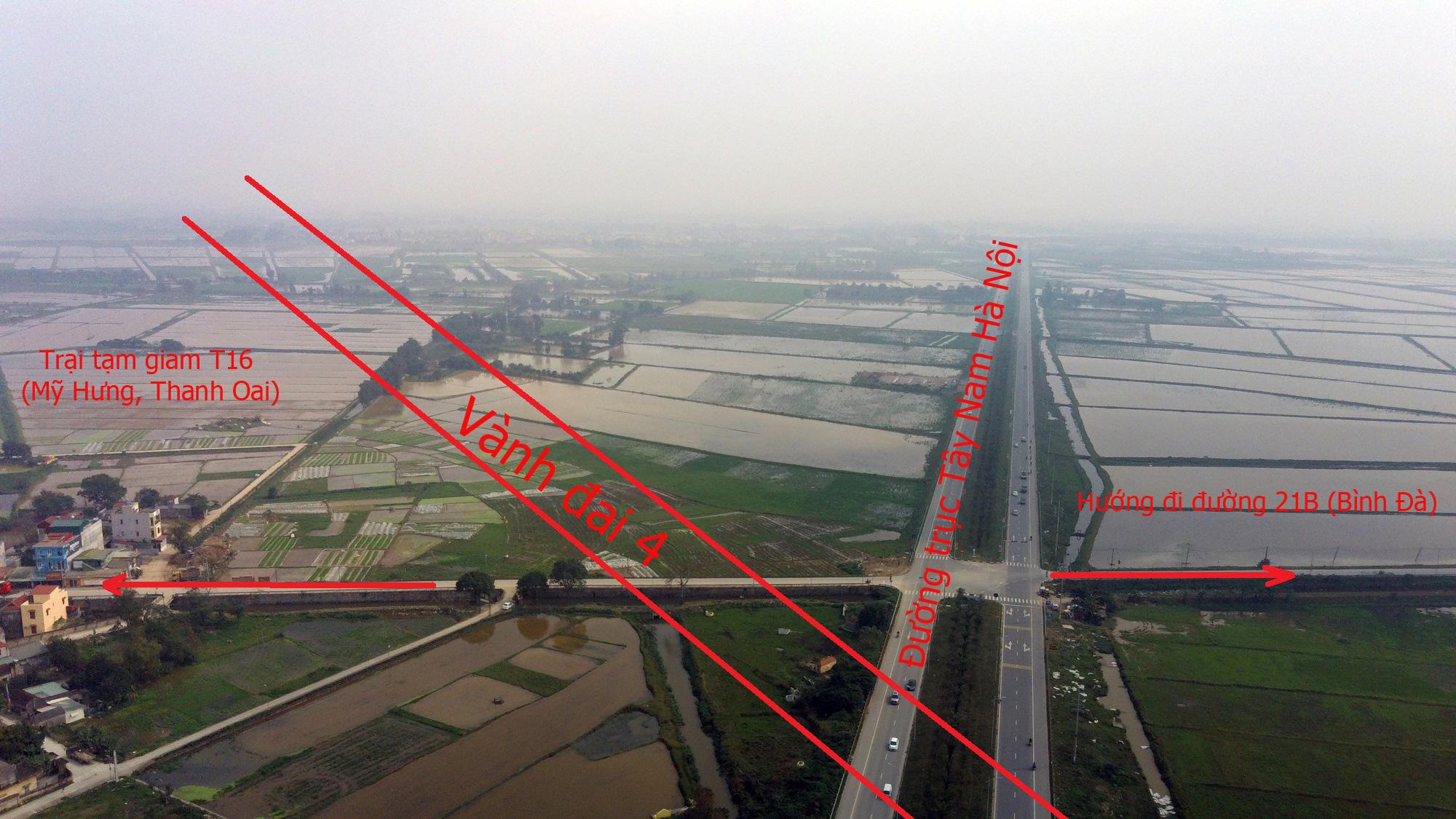 Đường sẽ mở theo qui hoạch: Toàn cảnh đường trục Tây Nam Hà Nội qua KĐT Thanh Hà - Ảnh 15.