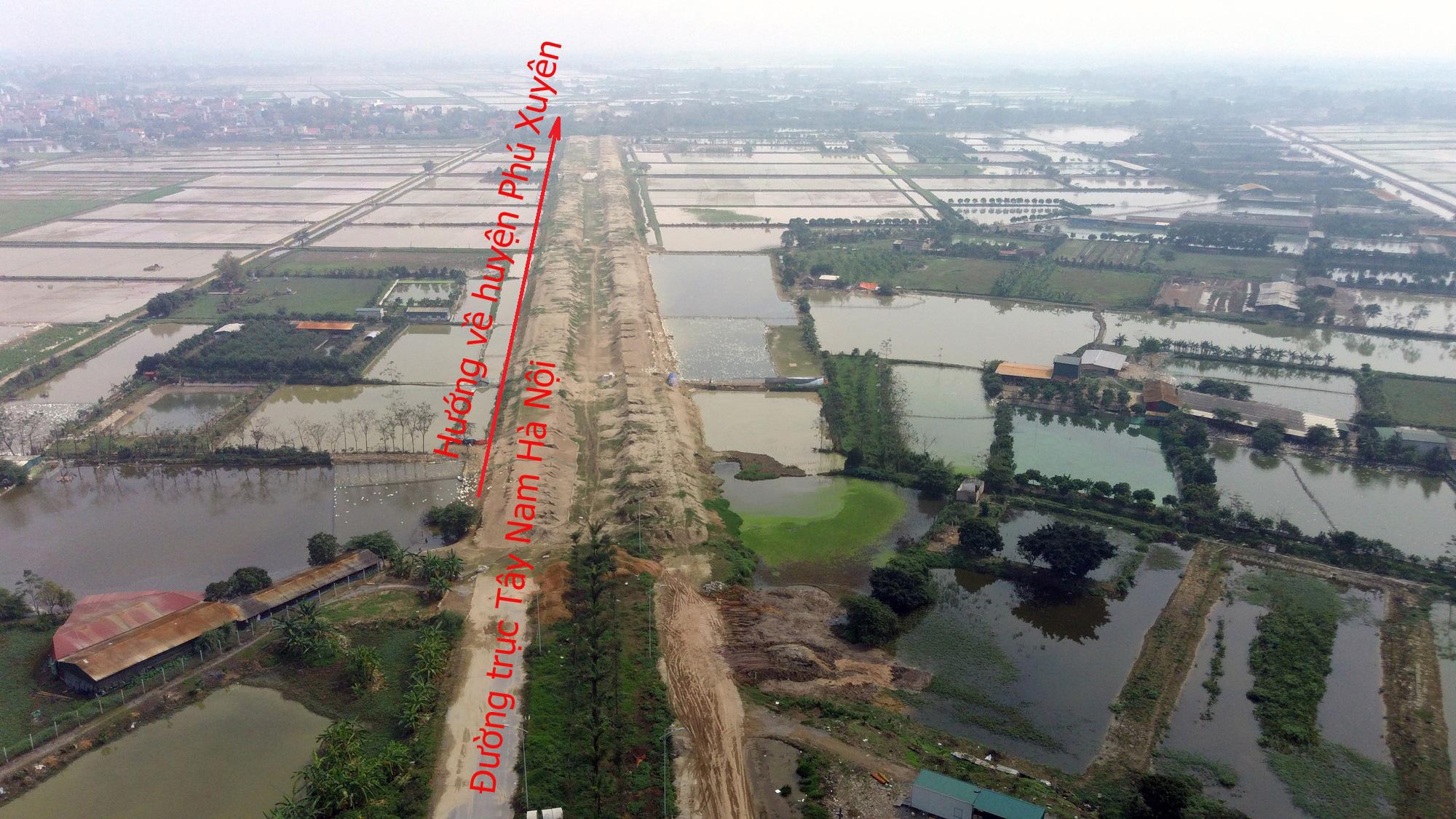 Đường sẽ mở theo qui hoạch: Toàn cảnh đường trục Tây Nam Hà Nội qua KĐT Thanh Hà - Ảnh 19.