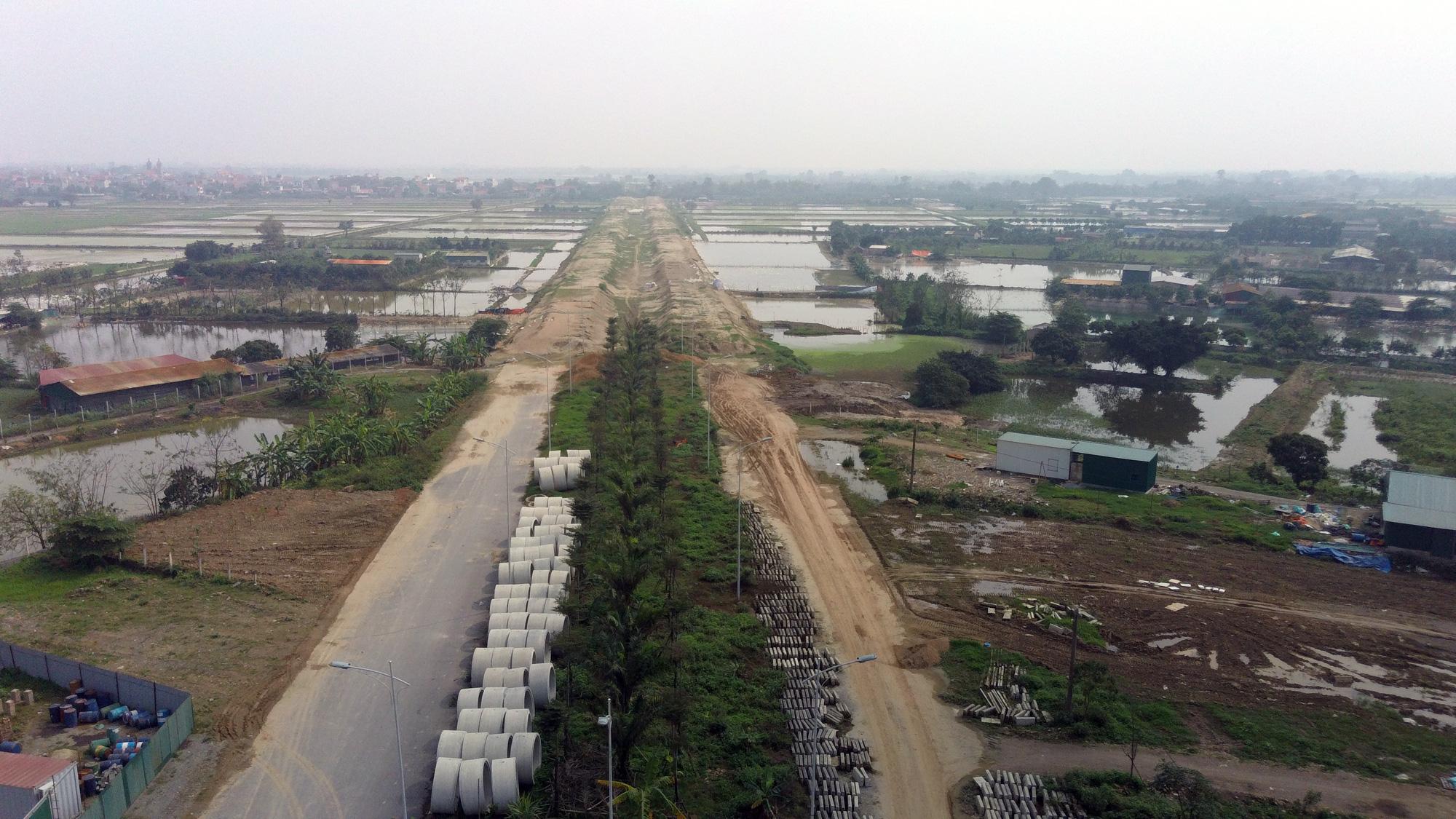 Đường sẽ mở theo qui hoạch: Toàn cảnh đường trục Tây Nam Hà Nội qua KĐT Thanh Hà - Ảnh 20.