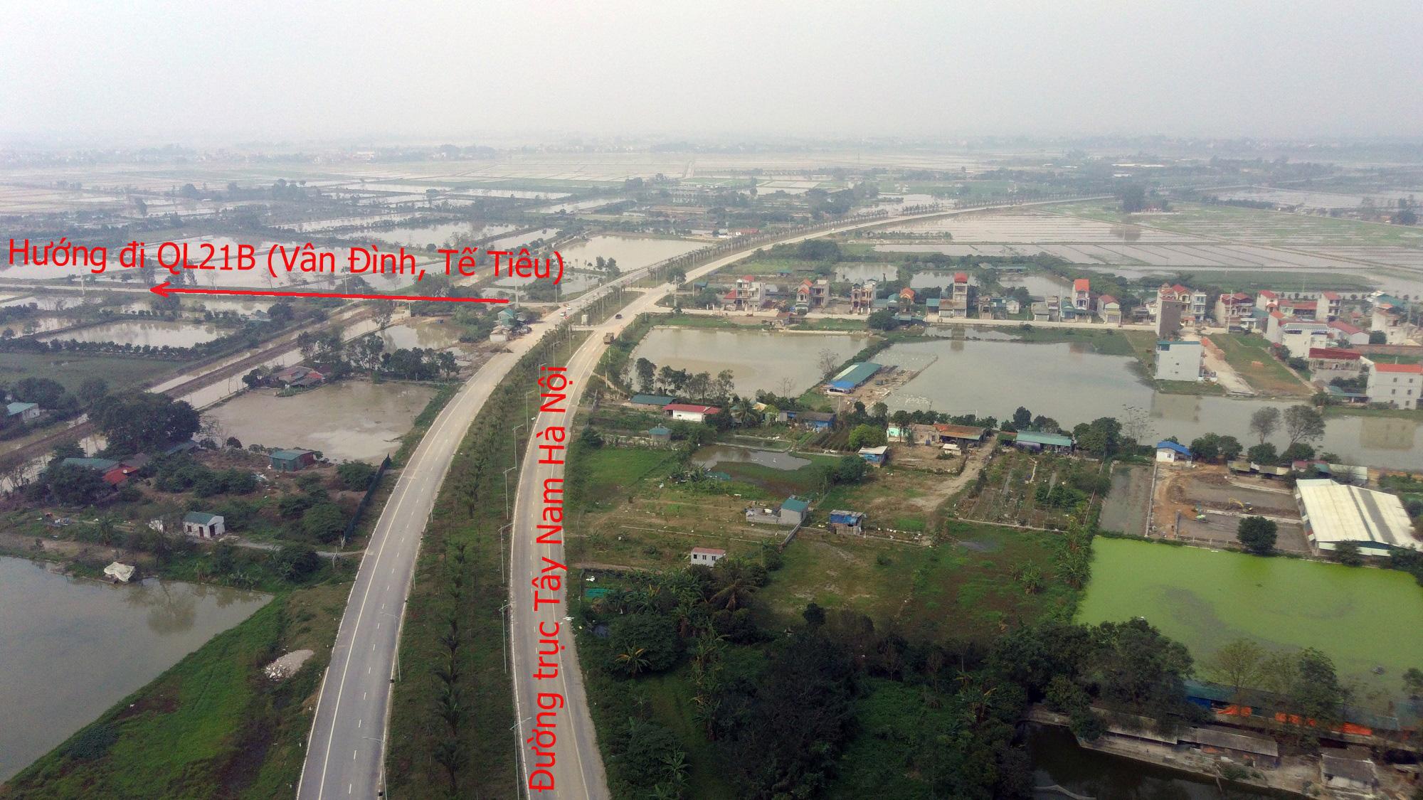 Đường sẽ mở theo qui hoạch: Toàn cảnh đường trục Tây Nam Hà Nội qua KĐT Thanh Hà - Ảnh 21.