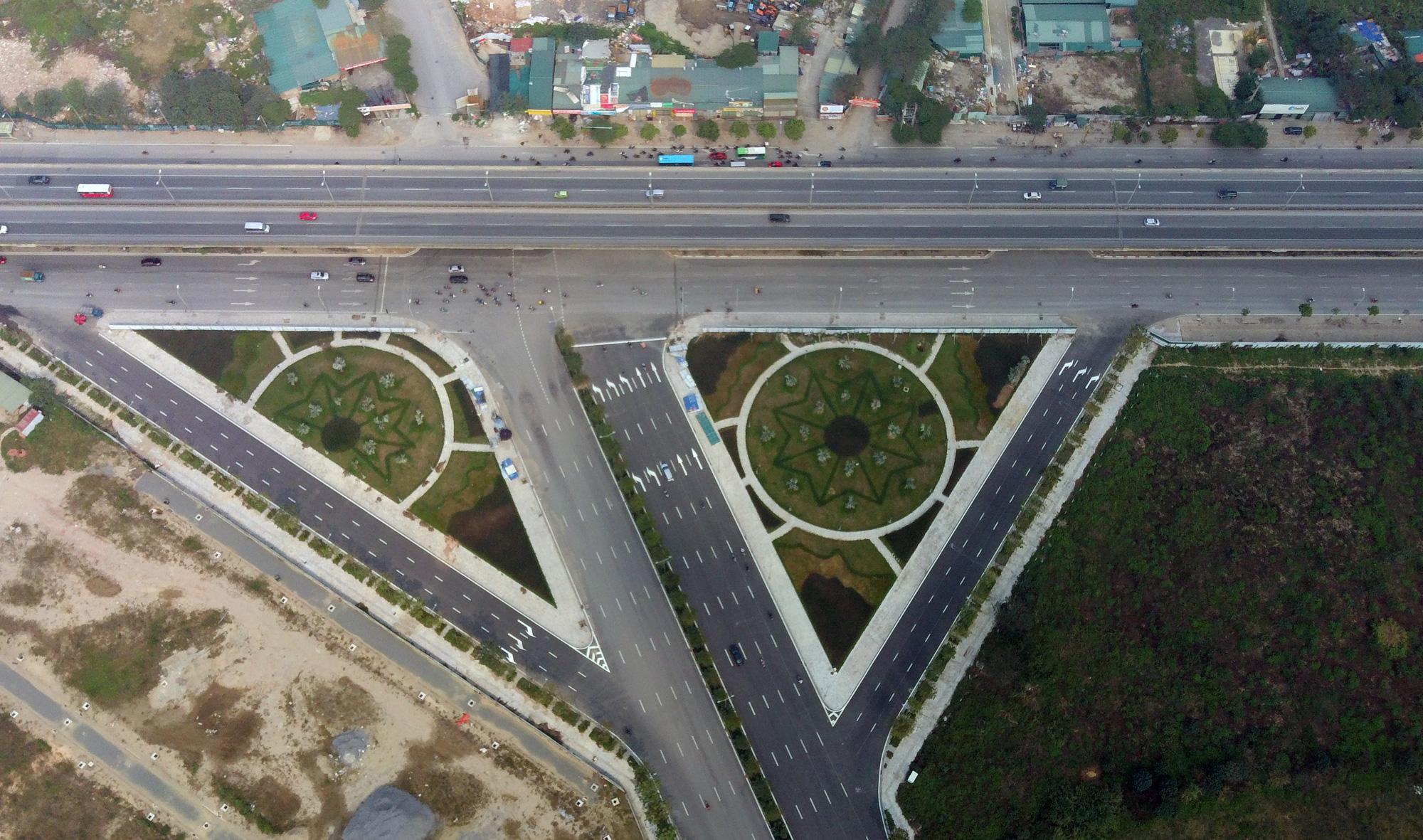 Đường sẽ mở theo qui hoạch: Toàn cảnh đường trục Tây Nam Hà Nội qua KĐT Thanh Hà - Ảnh 3.