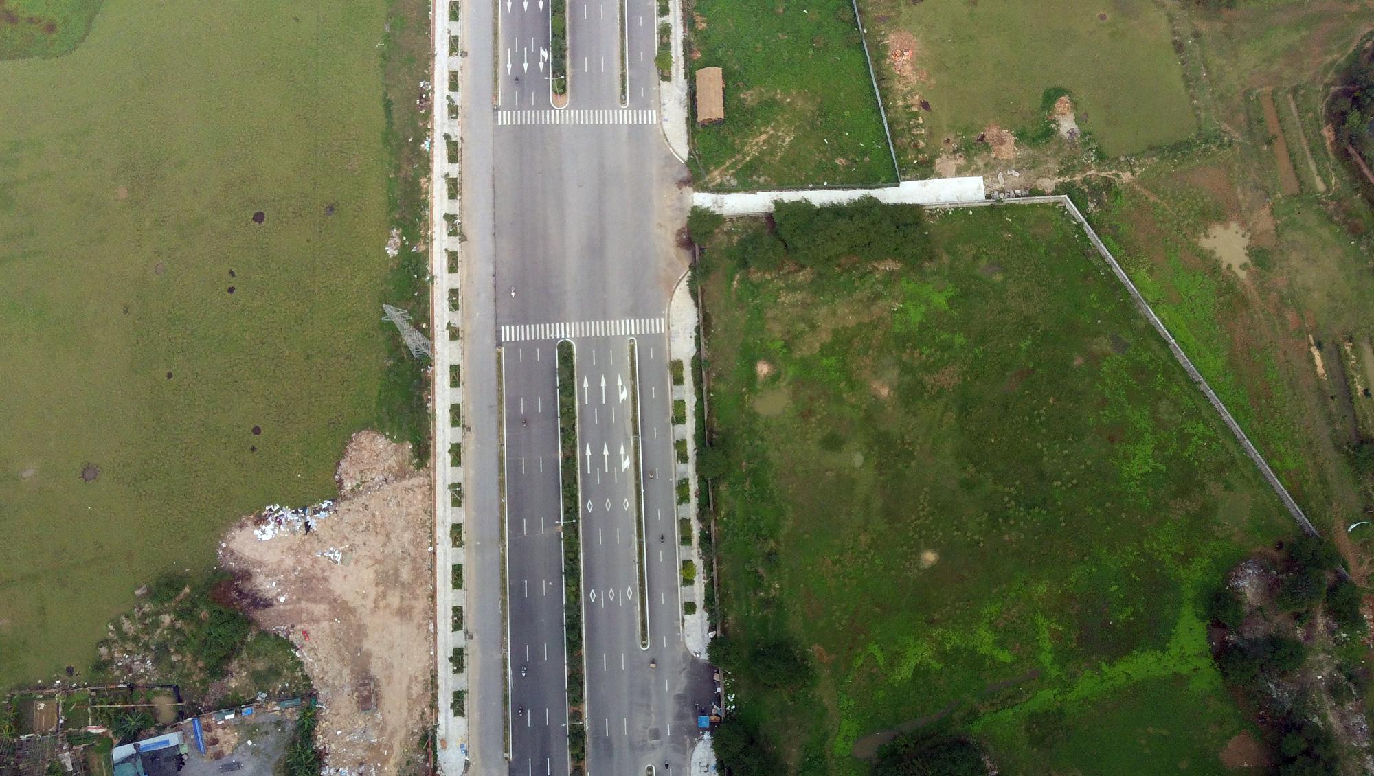 Đường sẽ mở theo qui hoạch: Toàn cảnh đường trục Tây Nam Hà Nội qua KĐT Thanh Hà - Ảnh 4.