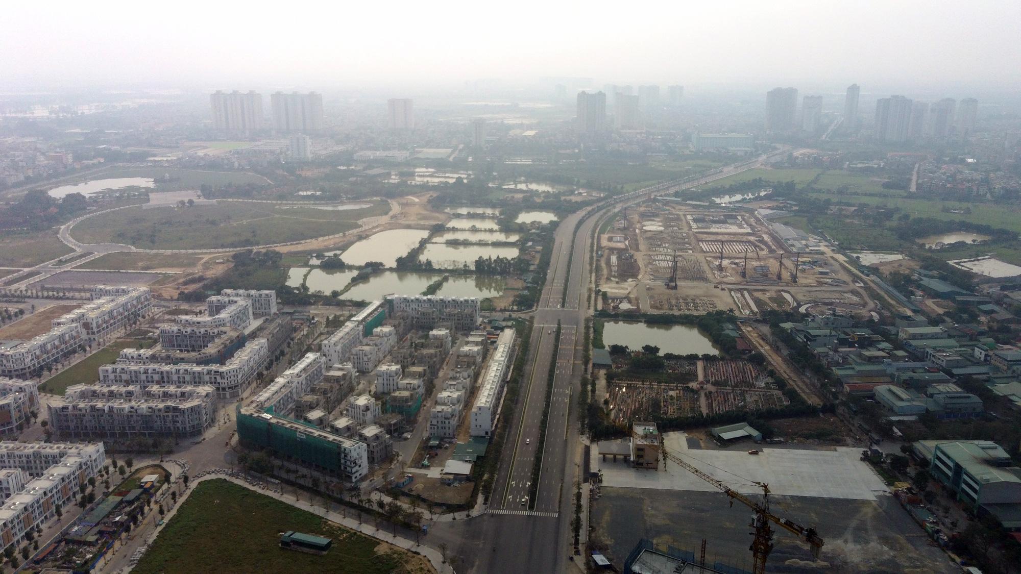 Đường sẽ mở theo qui hoạch: Toàn cảnh đường trục Tây Nam Hà Nội qua KĐT Thanh Hà - Ảnh 6.