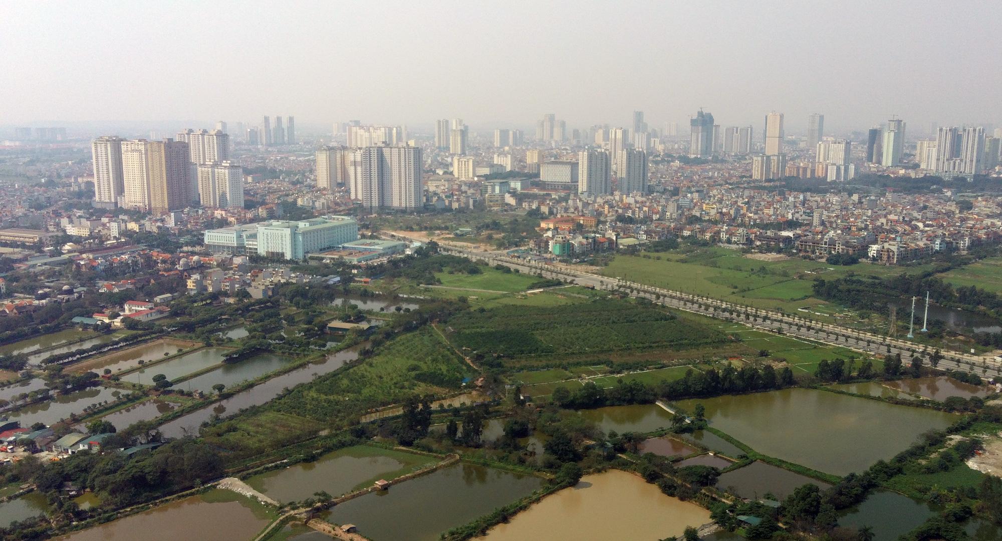 Đường sẽ mở theo qui hoạch: Toàn cảnh đường trục Tây Nam Hà Nội qua KĐT Thanh Hà - Ảnh 7.