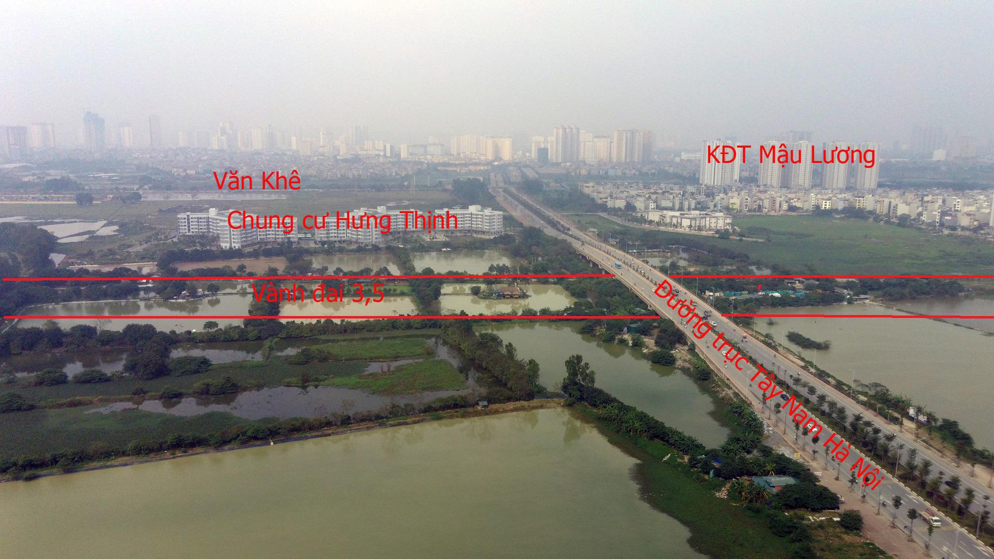 Đường sẽ mở theo qui hoạch: Toàn cảnh đường trục Tây Nam Hà Nội qua KĐT Thanh Hà - Ảnh 10.