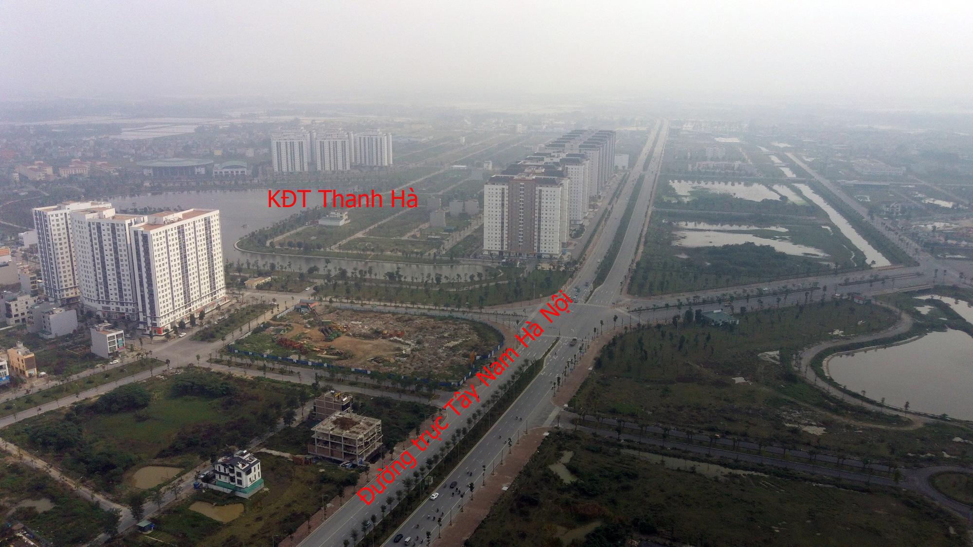 Đường sẽ mở theo qui hoạch: Toàn cảnh đường trục Tây Nam Hà Nội qua KĐT Thanh Hà - Ảnh 12.