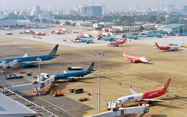 Nhiều chuyến bay Việt Nam - Hàn Quốc tạm dừng do bùng phát dịch virus corona - Ảnh 1.
