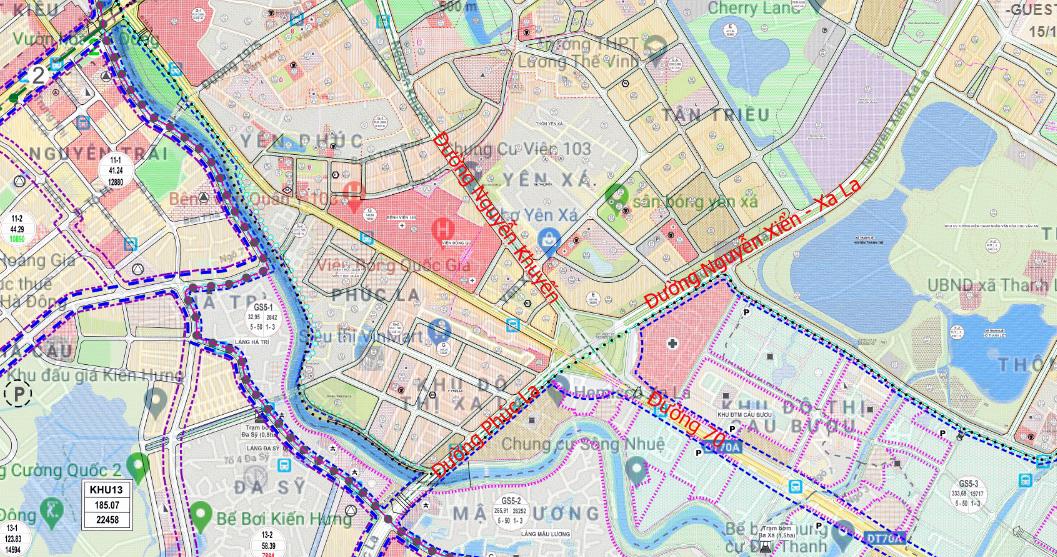 Đường sẽ mở theo qui hoạch: Toàn cảnh đường trục Tây Nam Hà Nội qua KĐT Thanh Hà - Ảnh 9.