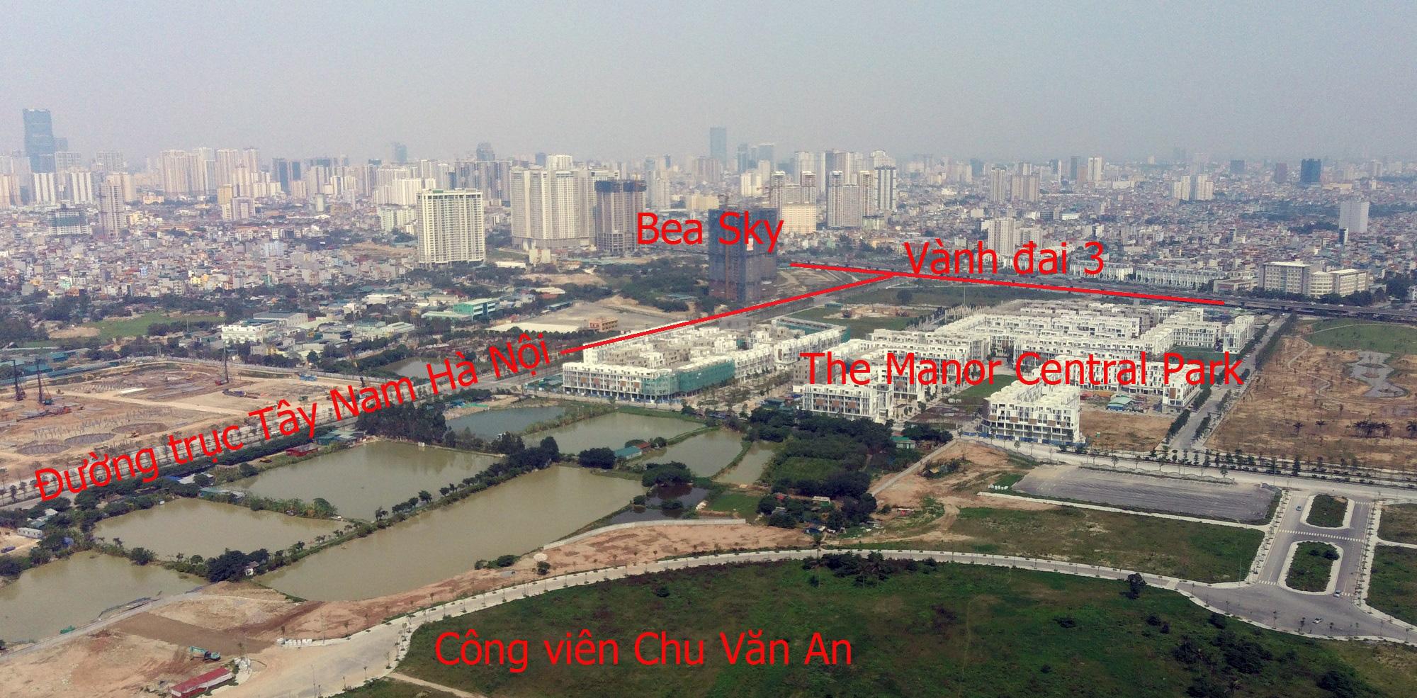 Những dự án 'đón' qui hoạch đường trục Tây Nam Hà Nội qua KĐT Thanh Hà - Ảnh 2.