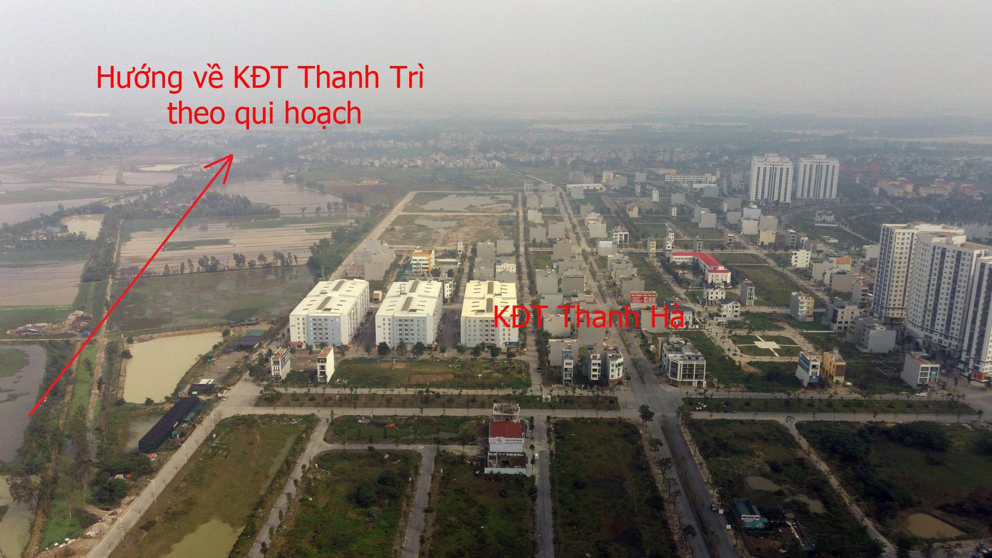 Những dự án 'đón' qui hoạch đường trục Tây Nam Hà Nội qua KĐT Thanh Hà - Ảnh 12.