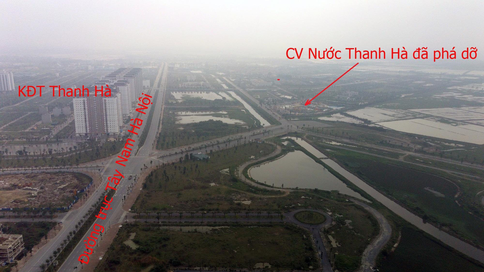Những dự án 'đón' qui hoạch đường trục Tây Nam Hà Nội qua KĐT Thanh Hà - Ảnh 14.