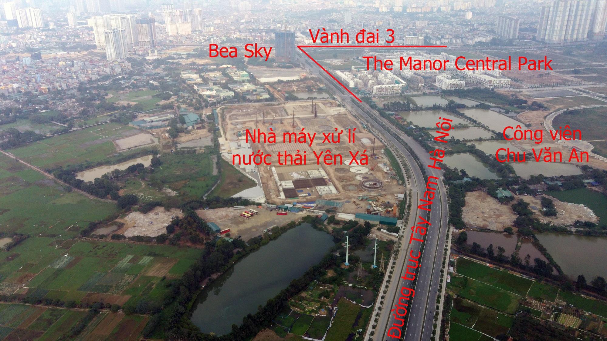 Những dự án 'đón' qui hoạch đường trục Tây Nam Hà Nội qua KĐT Thanh Hà - Ảnh 3.