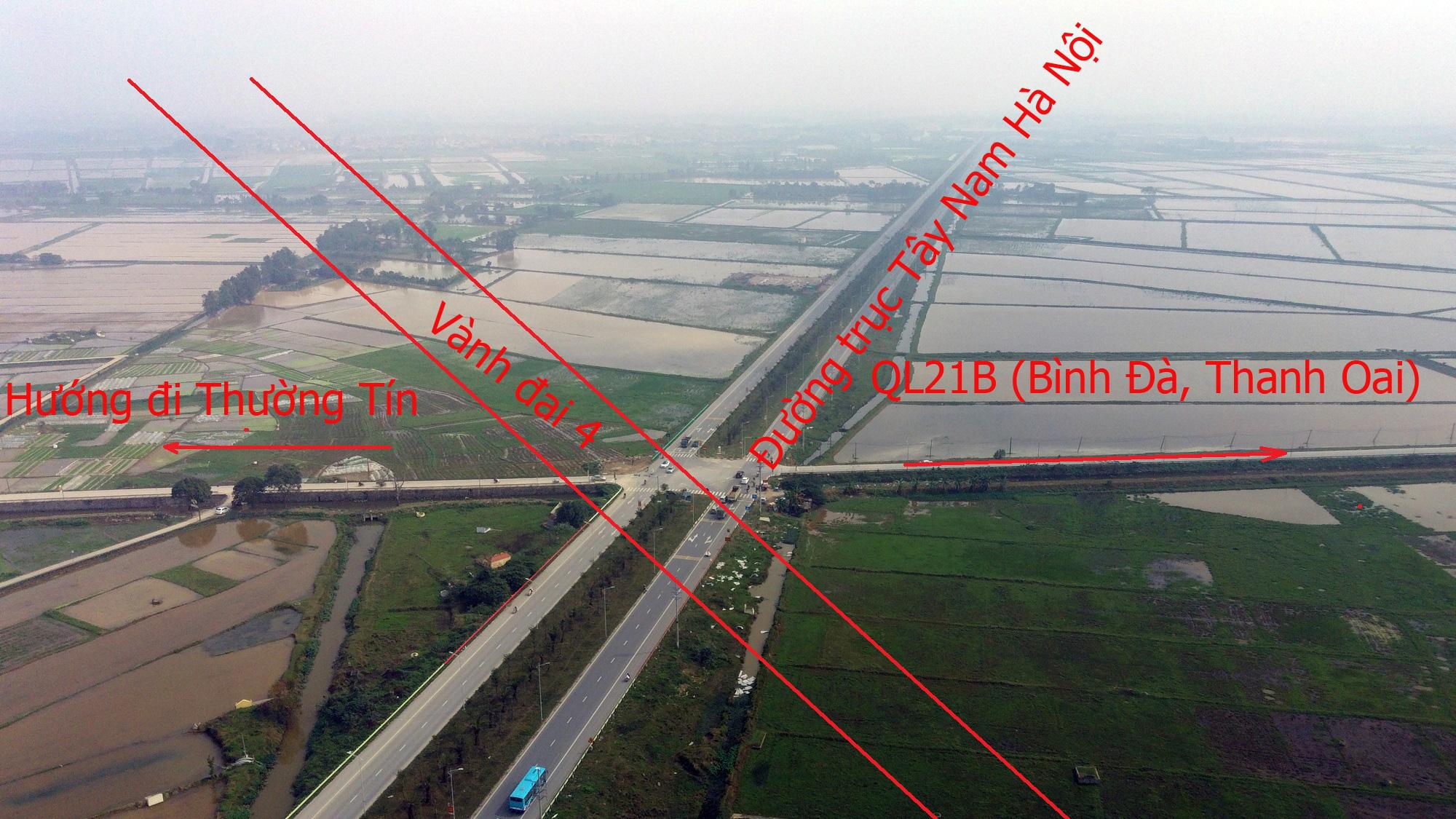 Những dự án 'đón' qui hoạch đường trục Tây Nam Hà Nội qua KĐT Thanh Hà - Ảnh 16.