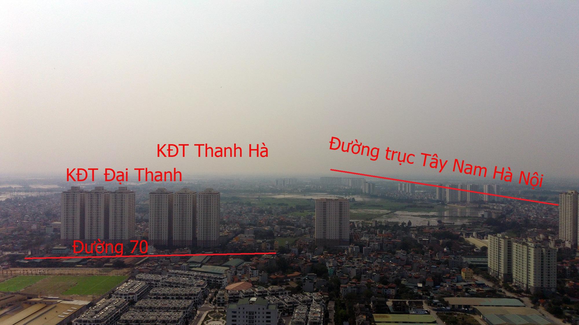 Những dự án 'đón' qui hoạch đường trục Tây Nam Hà Nội qua KĐT Thanh Hà - Ảnh 6.