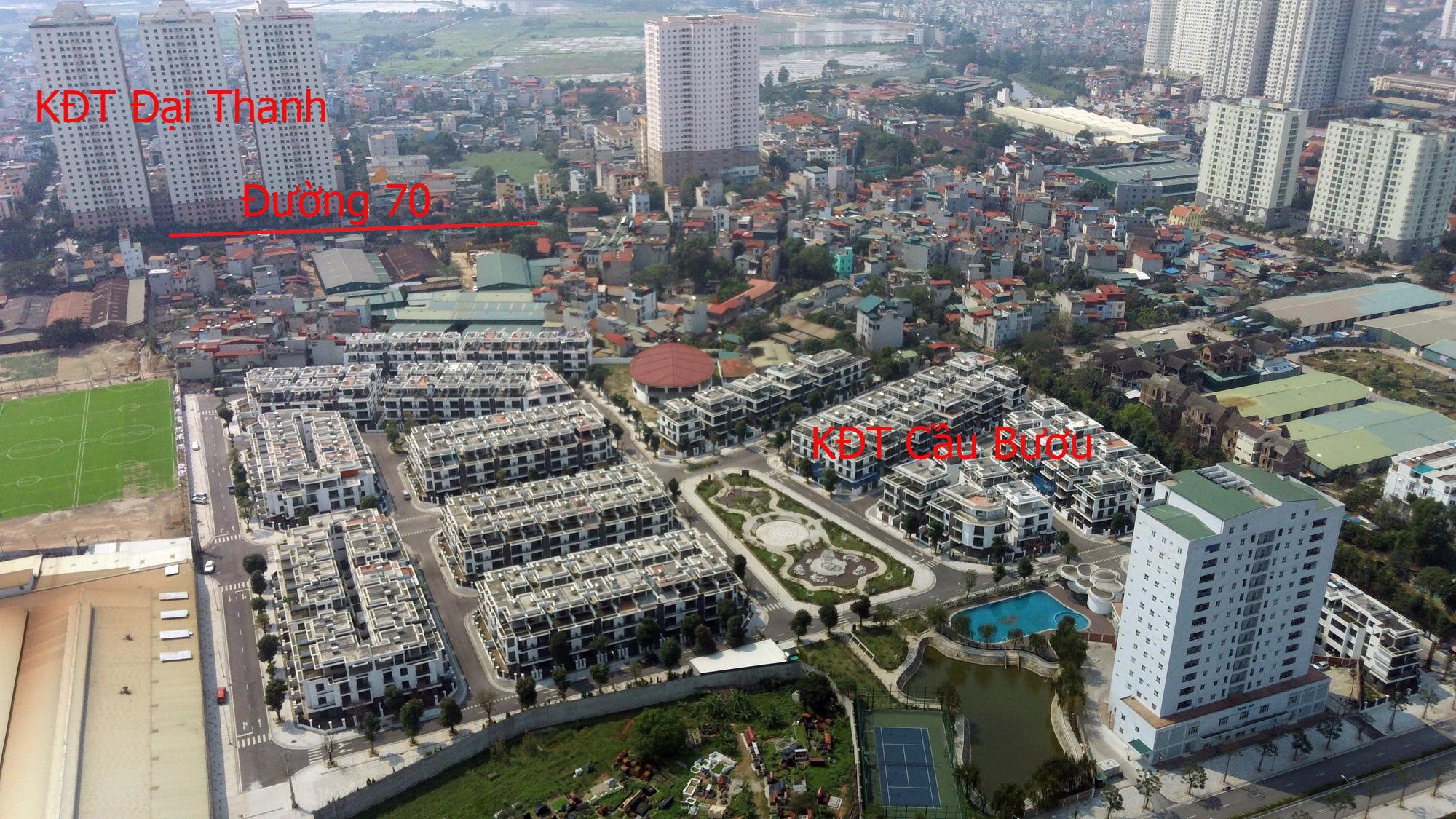 Những dự án 'đón' qui hoạch đường trục Tây Nam Hà Nội qua KĐT Thanh Hà - Ảnh 7.