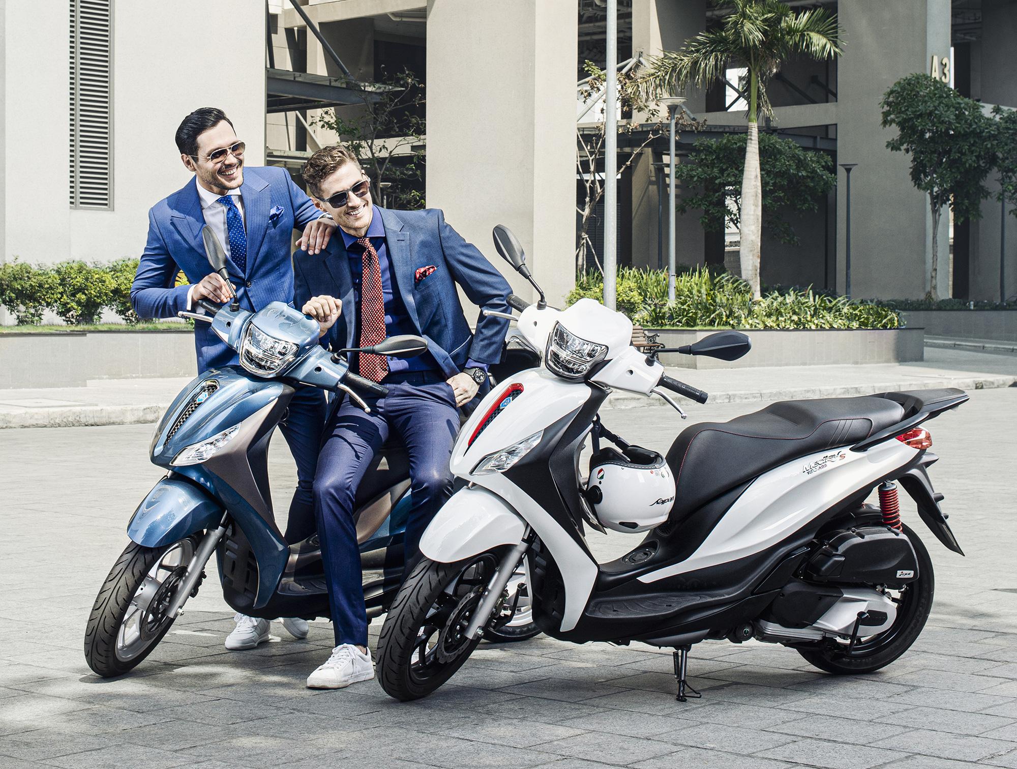 Đối thủ của Honda SH - Piaggio Medley 2020 chính thức ra mắt tại Việt Nam, giá từ 75 triệu đồng - Ảnh 2.