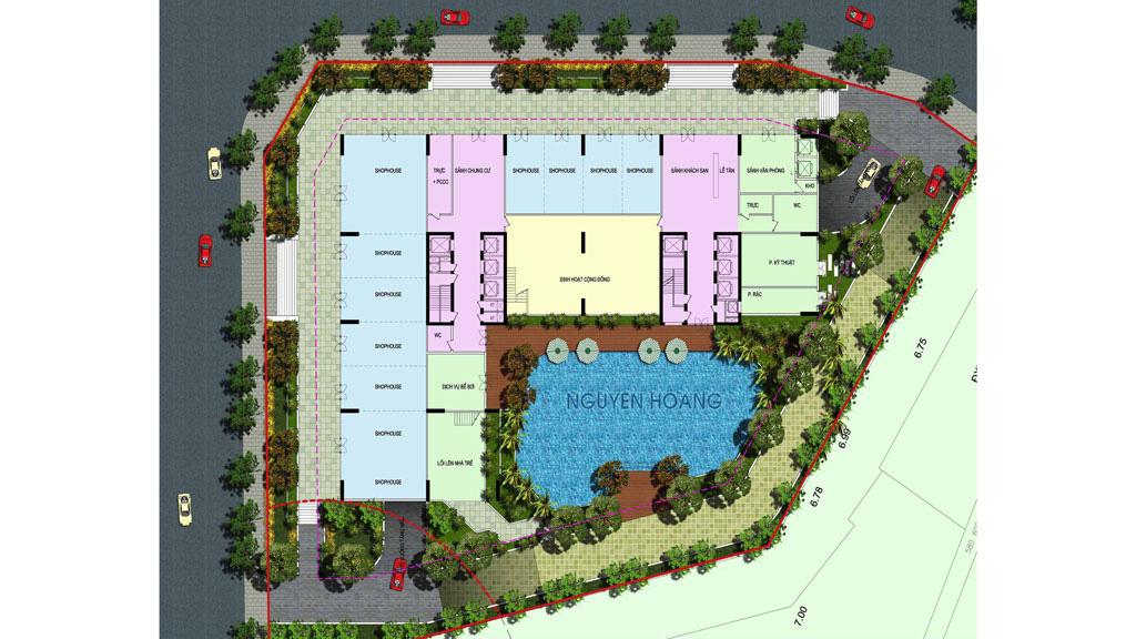 Dự án An Bình Plaza đang mở bán ở Hà Nội: 'Nhất cận thị', lô gia chạy dài qua các phòng - Ảnh 2.