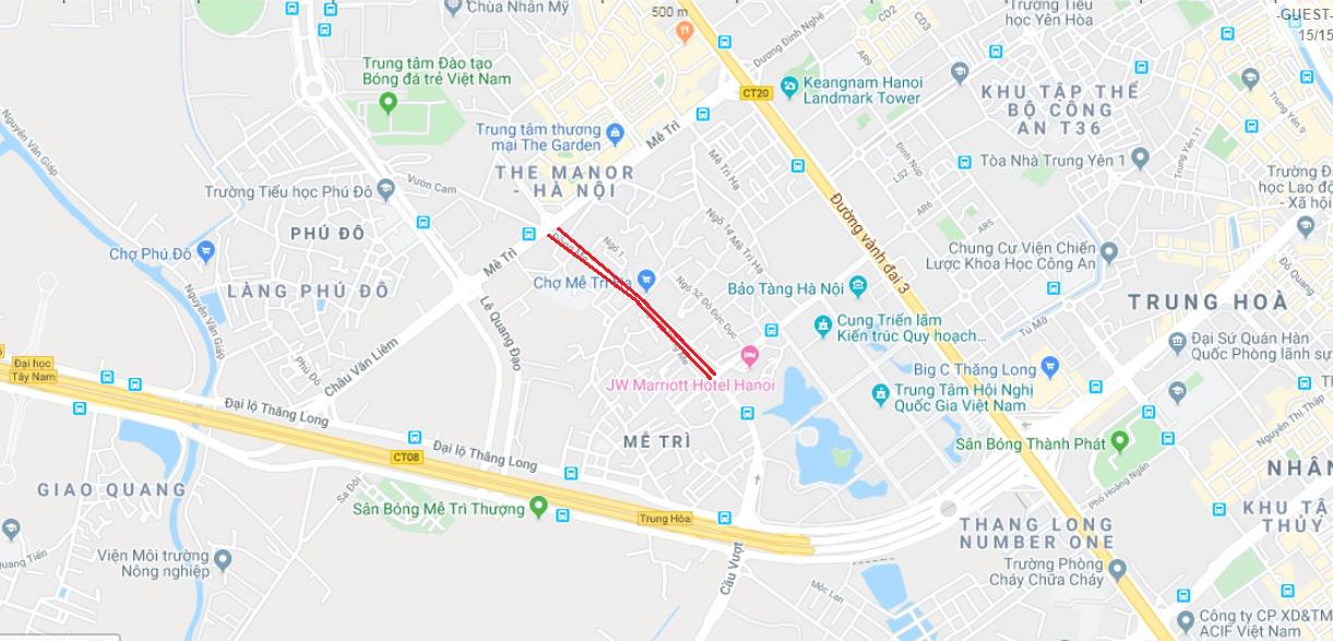 Qui hoạch giao thông Hà Nội: 4 đường sẽ mở ở phường Mễ Trì, Nam Từ Liêm - Ảnh 6.