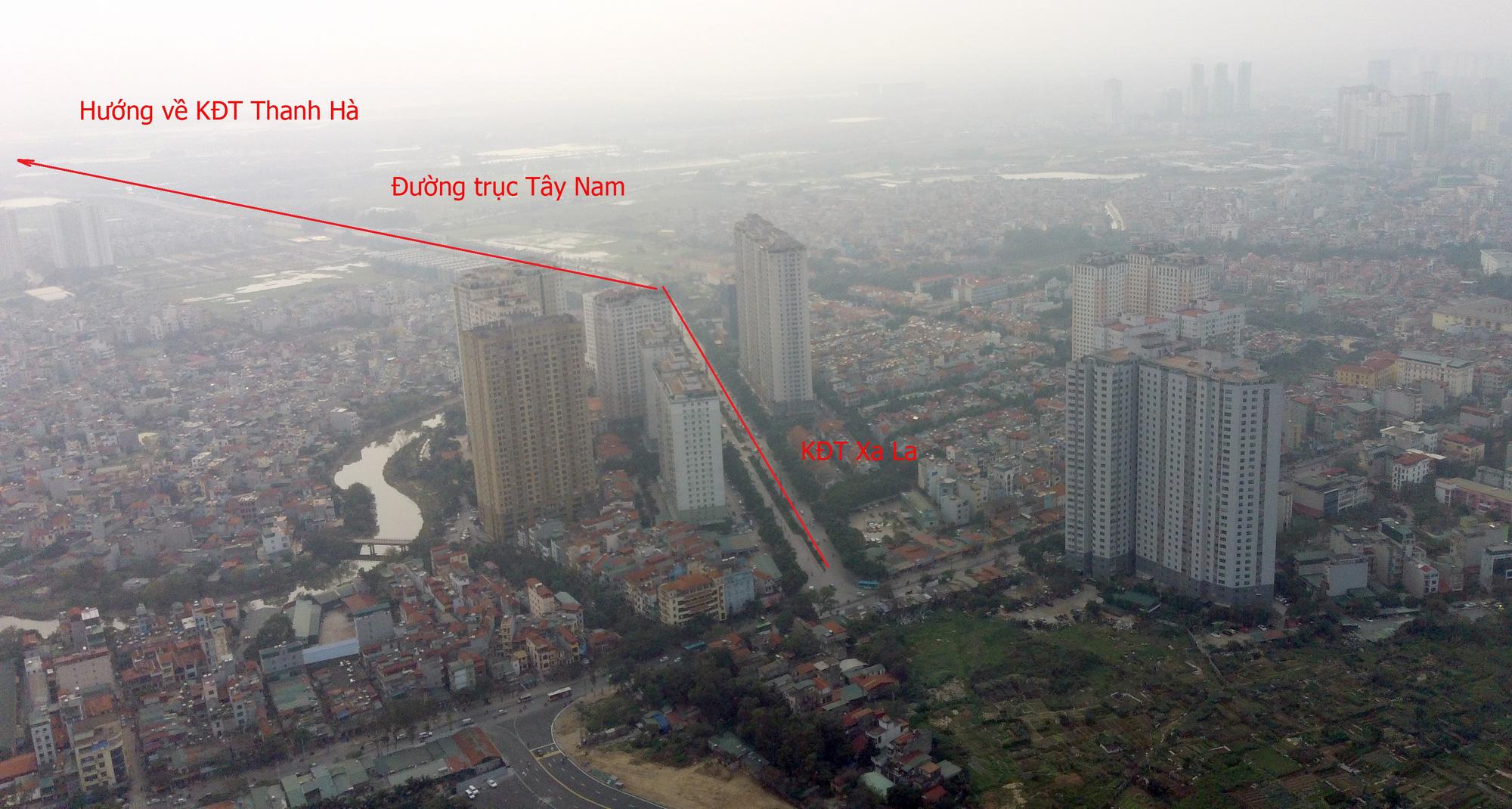 Thông đường Nguyễn Xiển - Xa La, hàng loạt khu đô thị được lợi - Ảnh 3.