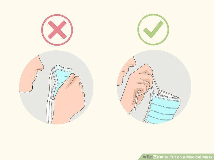 Cách đeo khẩu trang đúng nhất để phòng tránh virus Corona: 6 bước - Ảnh 7.