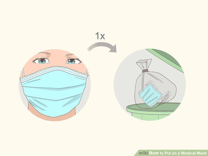 Cách đeo khẩu trang đúng nhất để phòng tránh virus Corona: 6 bước - Ảnh 8.