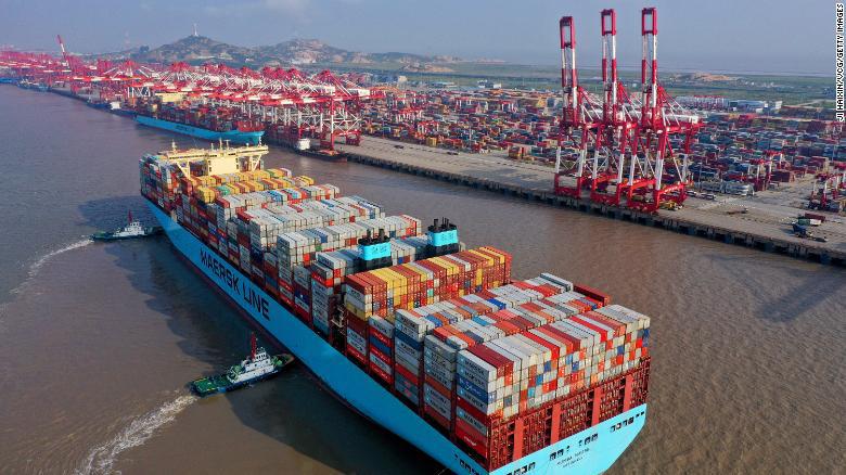 Huyết mạch của thương mại toàn cầu đang bị tắc nghẽn ở Trung Quốc - Ảnh 2.
