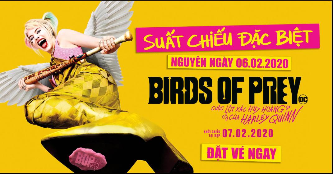 Lịch chiếu phim 'Birds of Prey: Cuộc lột xác huy hoàng của Harley Quinn' hôm nay (8/2) - Ảnh 1.