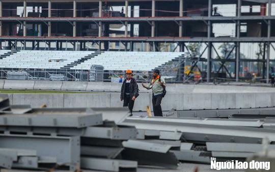 Toàn cảnh đường đua F1 Việt Nam đang trong quá trình hoàn thiện - Ảnh 10.