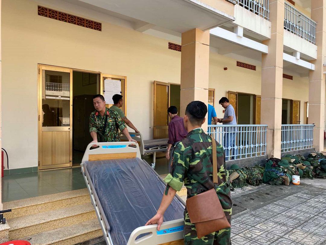 Bệnh viện dã chiến tại TP HCM đi vào hoạt động từ 10/2 - Ảnh 1.