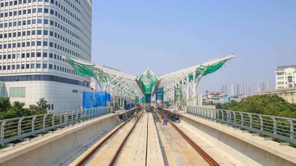 Gói thầu đầu tiên dự án đường sắt Nhổn - ga Hà Nội hoàn thành - Ảnh 1.