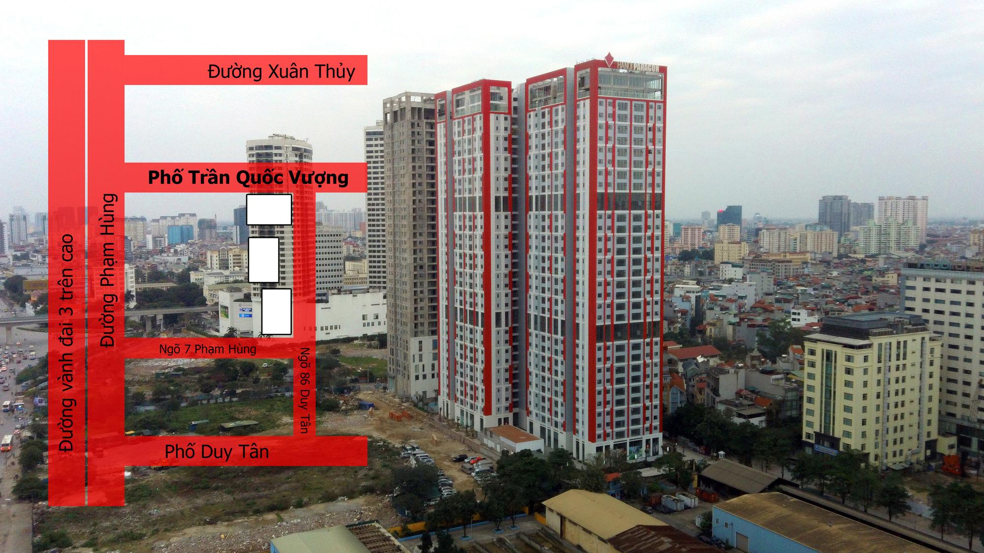 Dự án Hà Nội Paragon đang mở bán: Hai mặt tiền, vài bước ra vành đai ba - Ảnh 2.