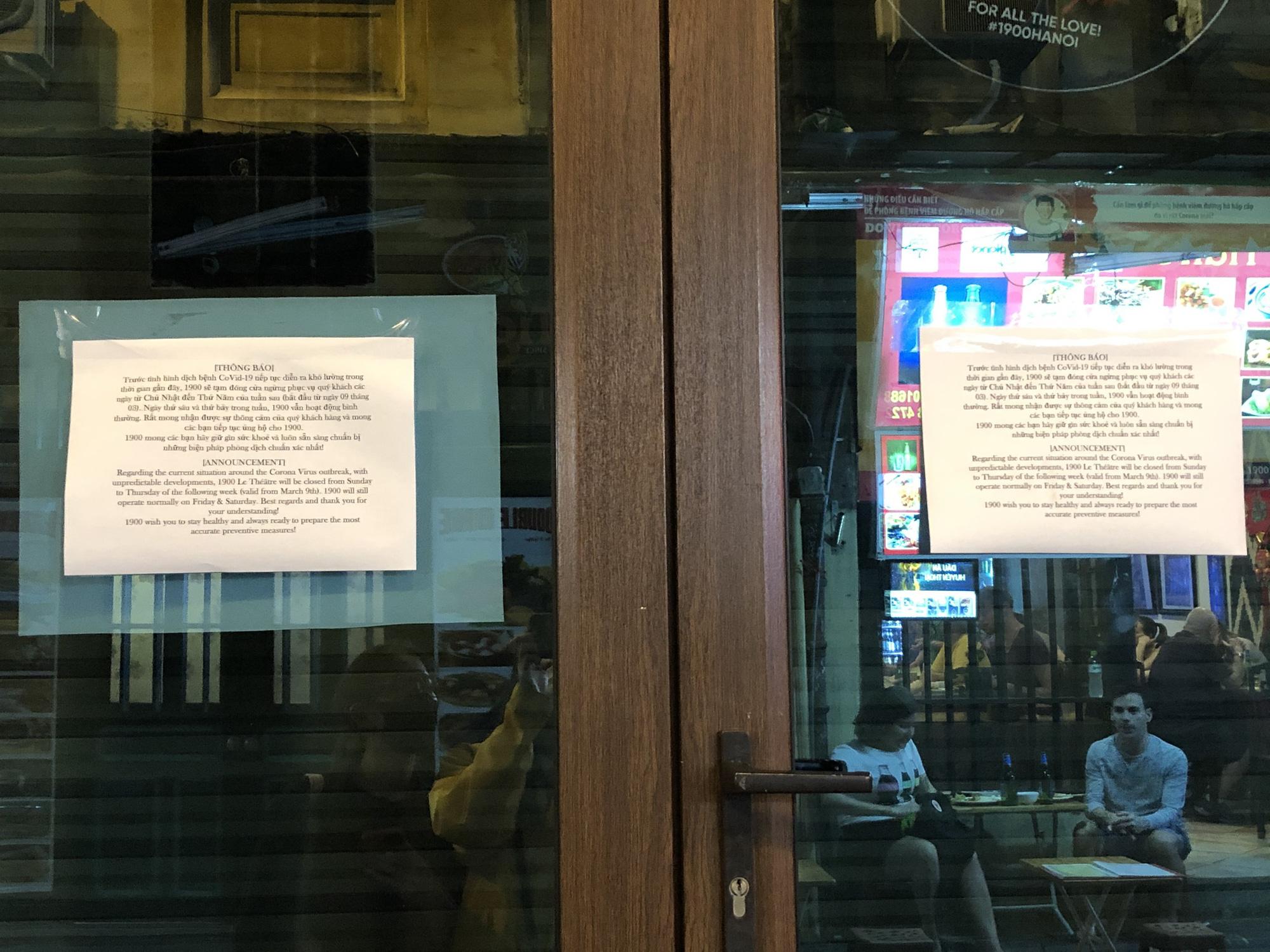 Phố Tạ Hiện vắng khách, các hàng quán ế ẩm giữa mùa dịch corona - Ảnh 4.
