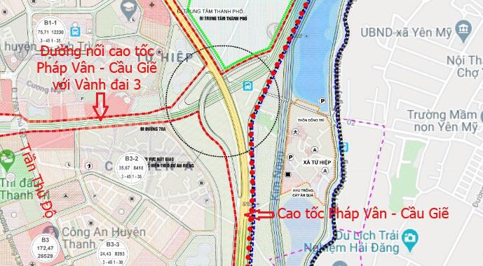 Đường sẽ mở theo qui hoạch: Toàn cảnh đường nối cao tốc Pháp Vân - Cầu Giẽ với Vành đai 3 - Ảnh 13.
