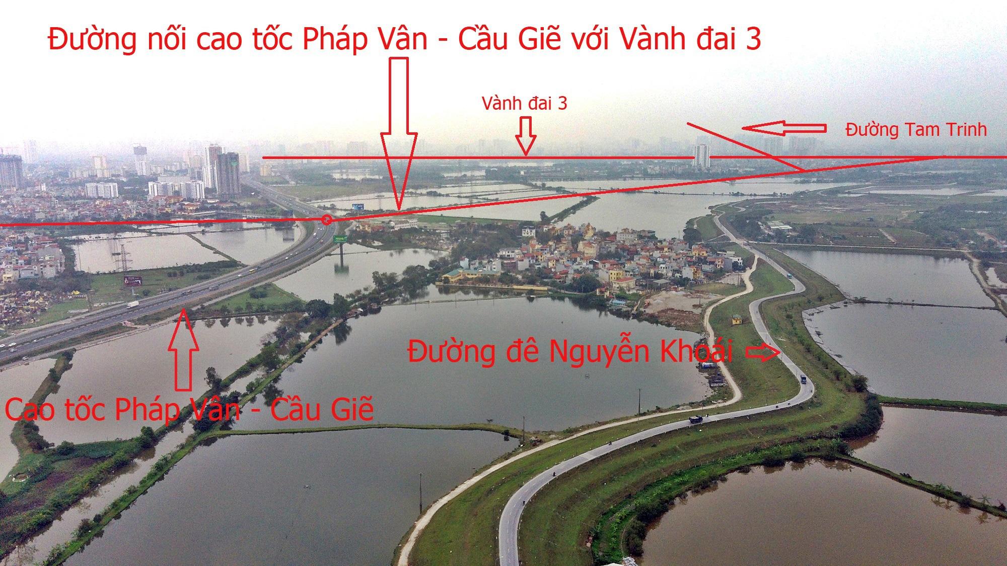 Đường sẽ mở theo qui hoạch: Toàn cảnh đường nối cao tốc Pháp Vân - Cầu Giẽ với Vành đai 3 - Ảnh 18.