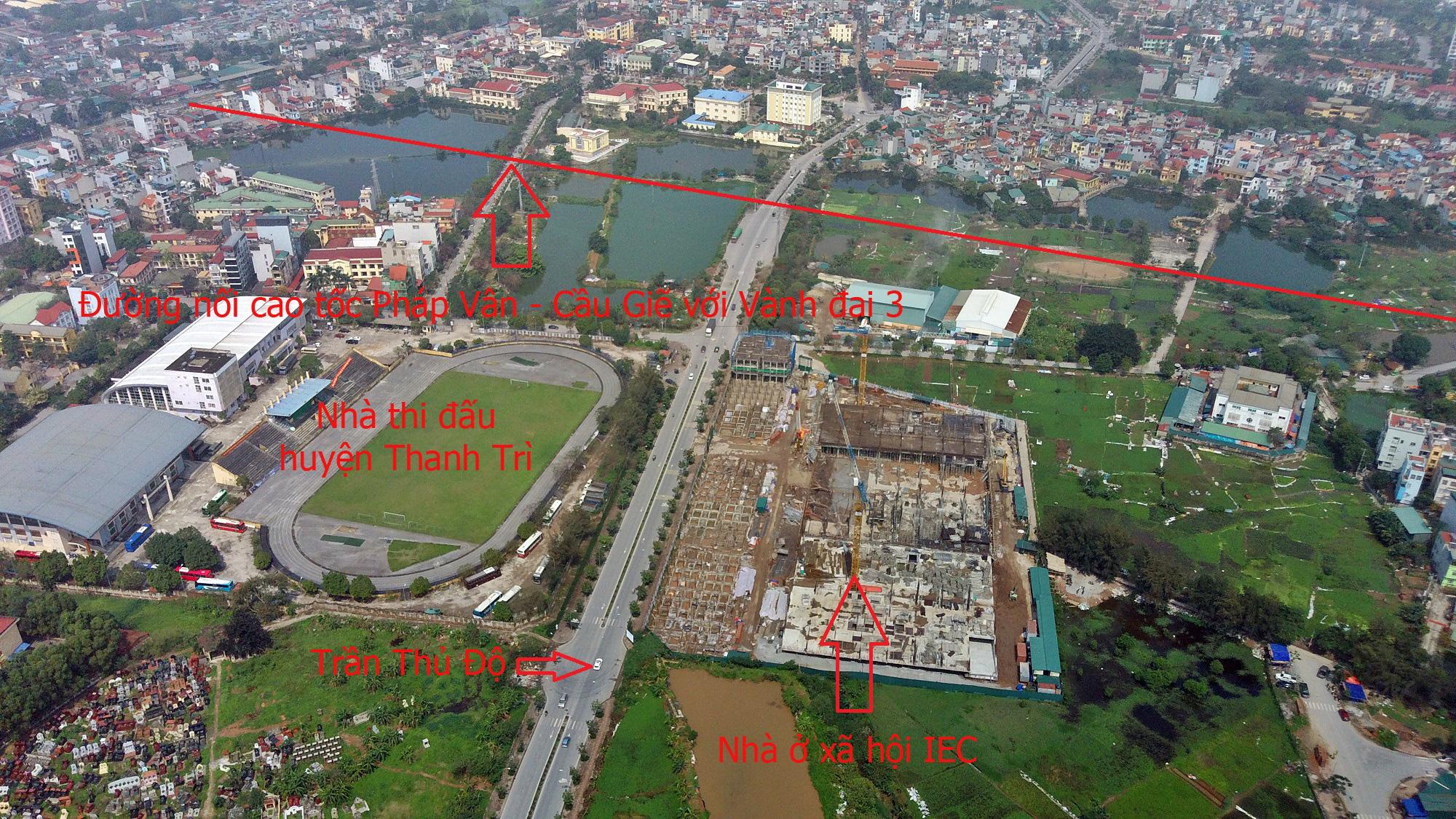 Những dự án hưởng lợi từ đường nối cao tốc Pháp Vân - Cầu Giẽ với Vành đai 3 - Ảnh 5.