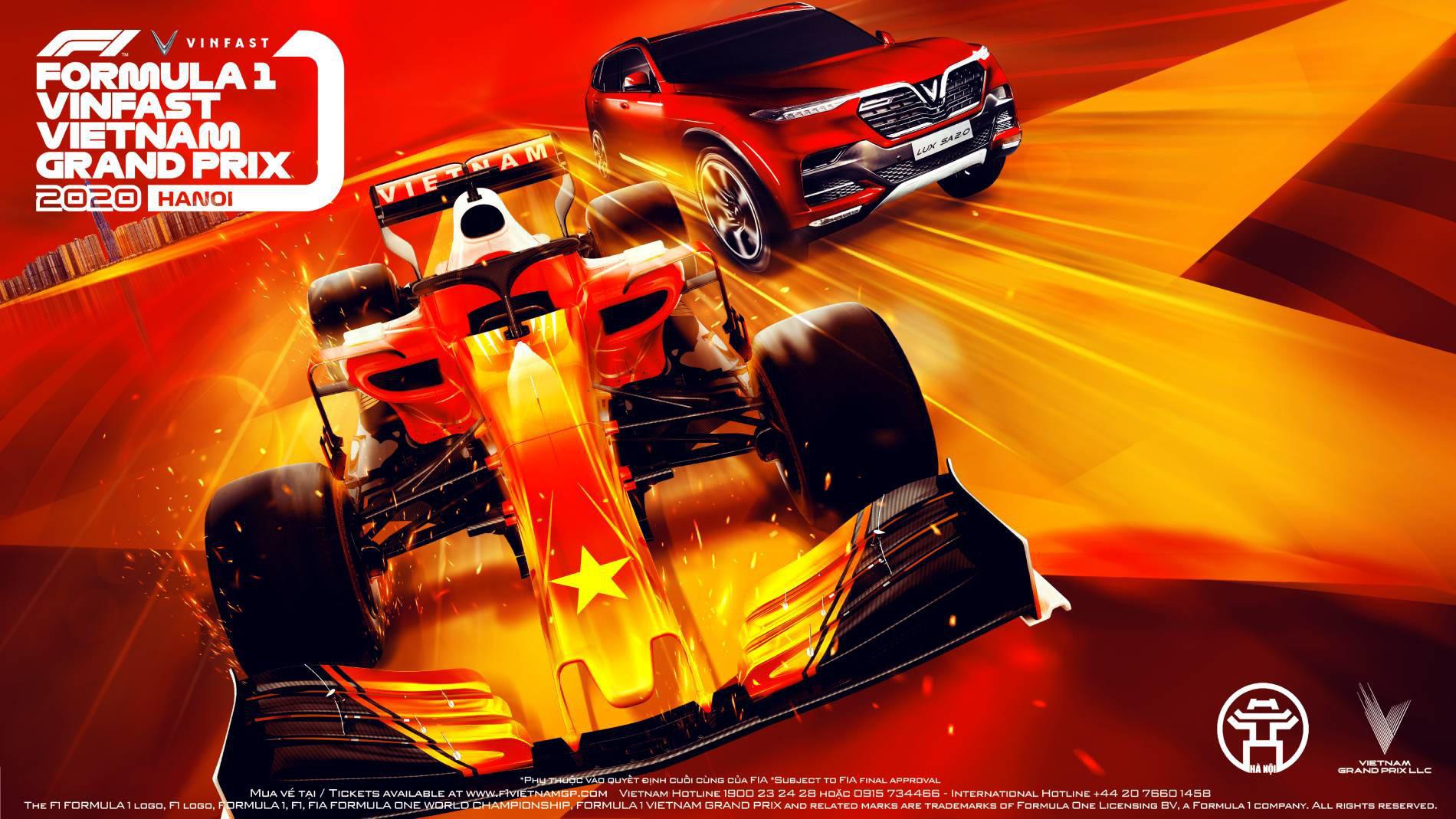 Chính thức hoãn chặng đua F1 Hà Nội vì dịch Covid - 19 - Ảnh 1.