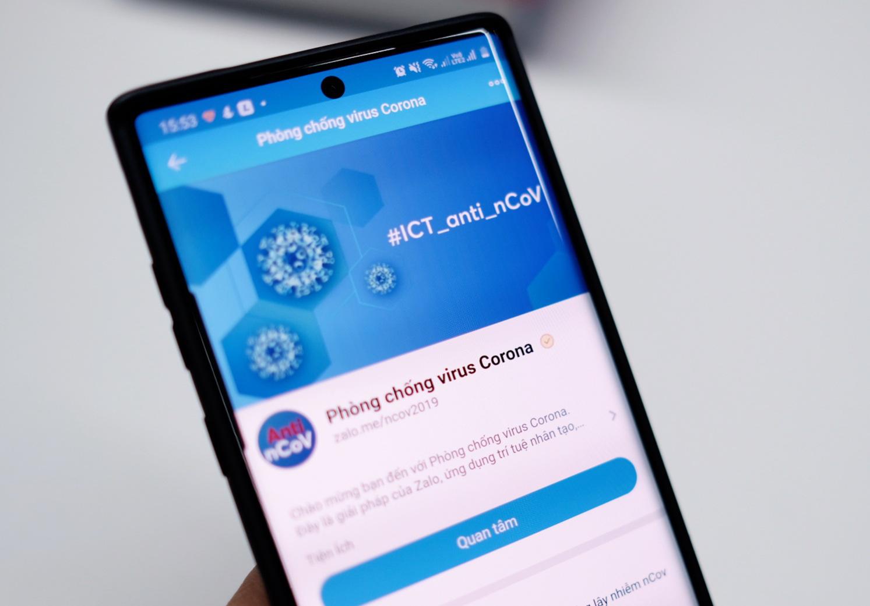 Dễ dàng theo dõi thông tin mới nhất về dịch virus corona trên điện thoại cho người dân Sài Gòn - Ảnh 2.
