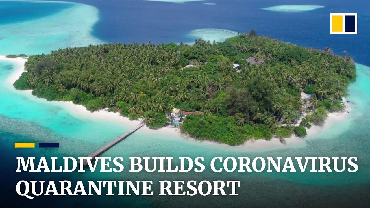 Maldives xây dựng khu nghỉ dưỡng đầu tiên dành riêng cho người nhiễm virus corona - Ảnh 1.